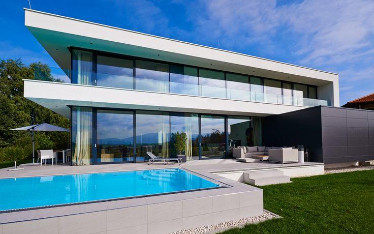 Designvilla inspiration haus villa 254 m in neumarkt for Modernes luxushaus