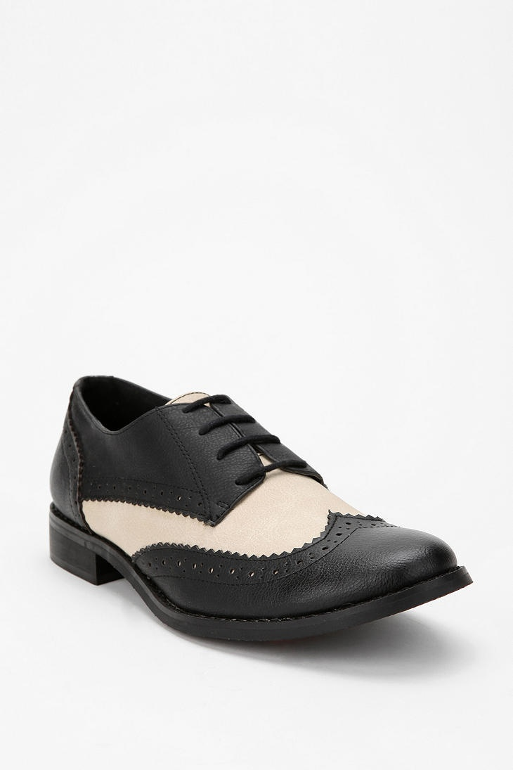Popular Urban Outfitters Captoe Oxford Shoe In Brown For Men  Lyst