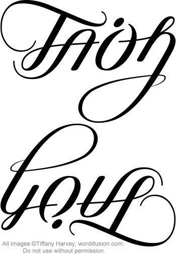 faith love ambigram v 2 pinterest tattoo tatting and piercings. Black Bedroom Furniture Sets. Home Design Ideas