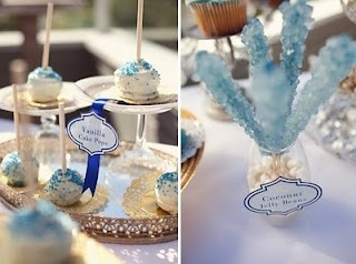 boy baby shower blue candy and cake pops