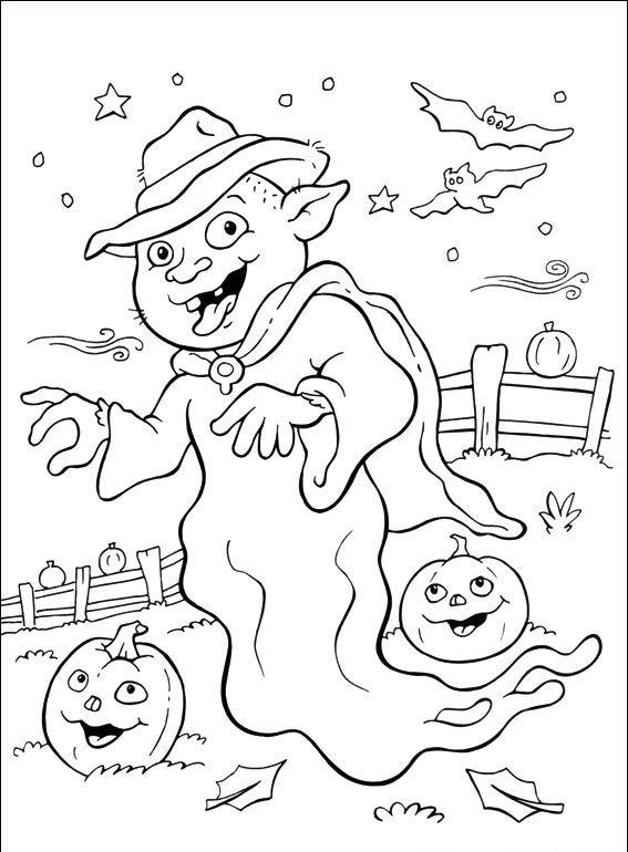 Halloween #135 - Pokoloruj ulubione postacie z bajek na ubieranki.eu! http://www.ubieranki.eu/kolorowanki/3696/halloween-_135.html