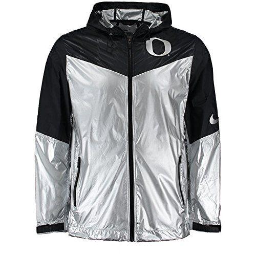 NIKE Nike Men's Oregon Ducks Velocity Full Zip Nylon Ultralight Rain Jacket. #nike #cloth #