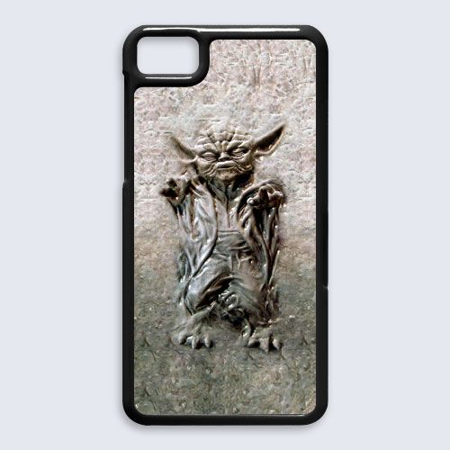 star wars master yoda in carbonite Blackberry Z10 case $16.89 #etsy #Accessories #Case #cover #CellPhone #BlackBerryZ10 #BlackBerryZ10case #BlackBerry #StarWars #HanSolo #R2D2 #DarthVader #obiwanstatue