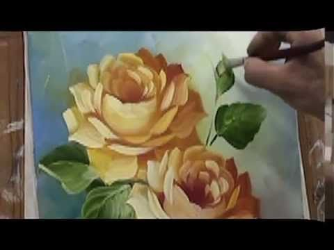 Revista Virtual Pintura em Tela - Especial Flores - Catanzaro e Escudeiro - YouTube