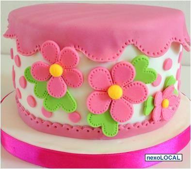curso decoracion de tortas flores
