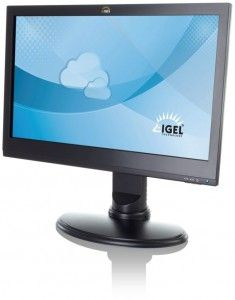 Igel UD10 All-in-One-Thin Client mit 24-Zoll LED-Display