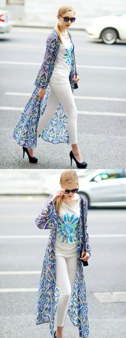 Perfect fall kimonos! -- I'm in love! Where do I find these?!?