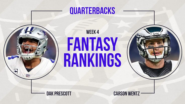 Fantasy Football Week 4 Rankings: Quarterback - Sporting News