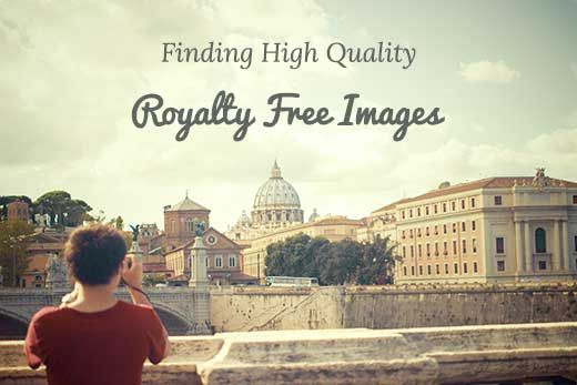 Want to know how to find royalty free images for your WordPress blog post? Here are the best resources to find royalty free images for your blog posts.