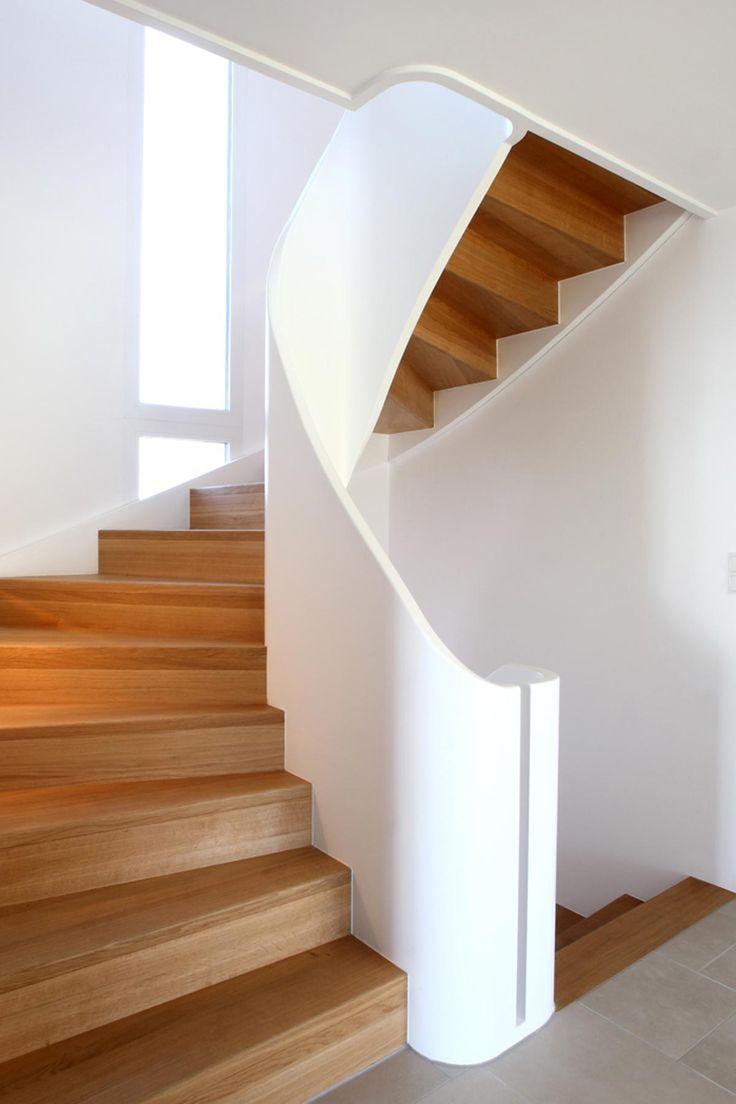 Beste Design Treppe Holz Lebendig Aussieht Fotos - Die ...