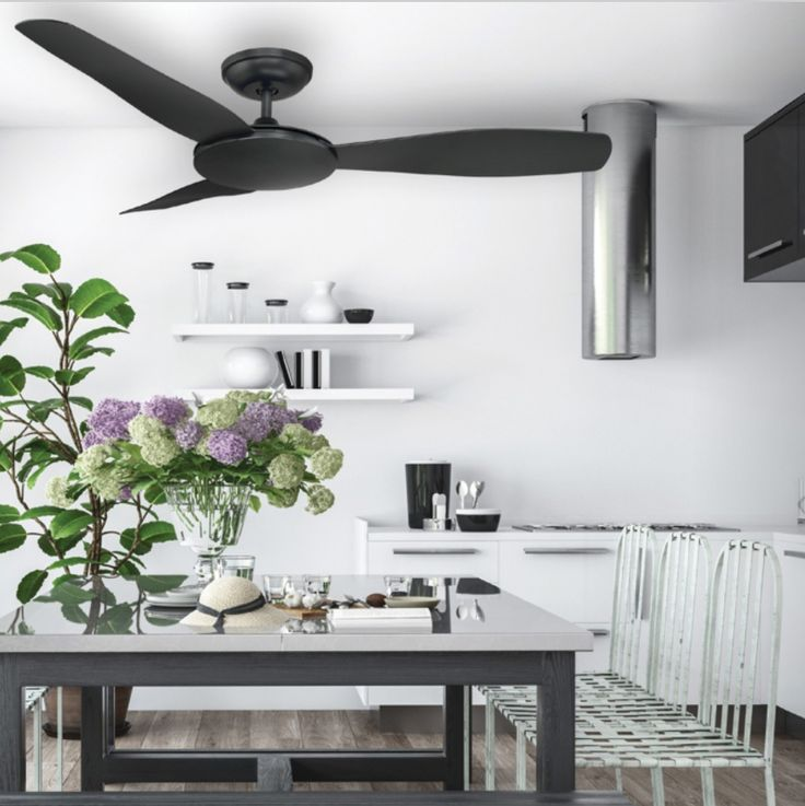 The Sorrento DC Ceiling fan has a low profile design and will provide excellent air circulation. It comes with a SeaBreeze function which is ideal for entertaining in the summer months.