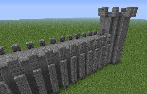 minecraft castle walls image | Minecraft | Pinterest | Minecraft ...