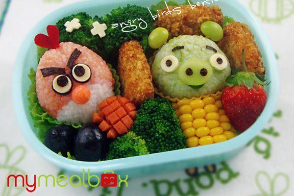 comida divertida Angry Birds