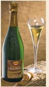 Champagne Le Brun de Neuville, Cuvee eleve en fut de chene, 35 euros (see website to buy), most interesting wine of the month. Nice chat too. A vital part of wine tasting is talking ...