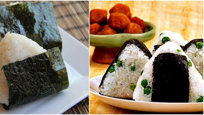 Resep Nasi Kepal Jepang Sederhana Resep Makanan Resep Makanan