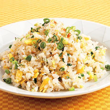和風卵チャーハン | 浜内千波さんのごはんの料理レシピ | プロの簡単料理レシピはレタスクラブネット