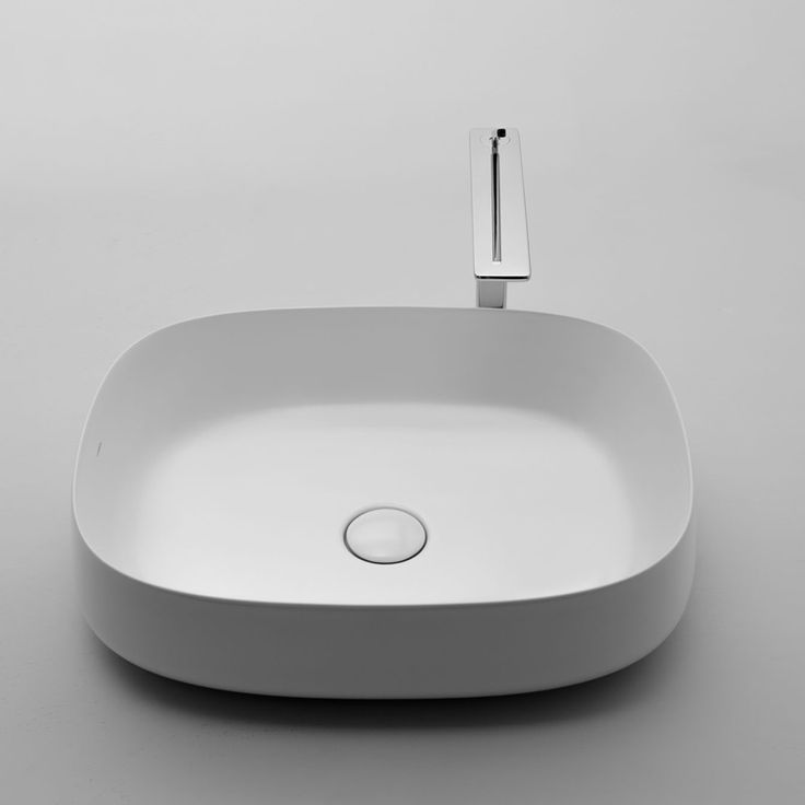 Valdama - Seed 02 Sit on wash basin - comes in black matt