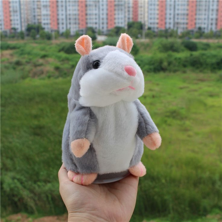 $ - Cool 2017 Talking Hamster Mouse Pet Plush Toy Hot Cute Speak Talking Sound Record Hamster Educational Toy for Children Gift - Buy it Now!