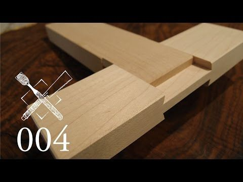 Joint Venture Ep. 7: Cross lap with mitered abutments (Western / Japanese Joinery) - YouTube