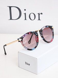 Floral retro trend arrow style metal frame sunglasses accessories sunglasses mirror leg