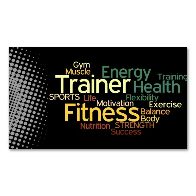 2130 best images about Fitness Business Cards on Pinterest