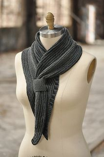 We love the way this is a warm scarf, but the wrap design makes it tidy and elegant.