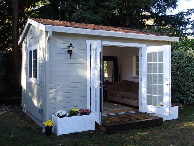 The Shed Shop Studio Model U2013 Ideal For Backyard Home Office Or Studio U2013  Sizes U0026 Prices, Features U0026 Benefits U2013 Room Addition Alternative.