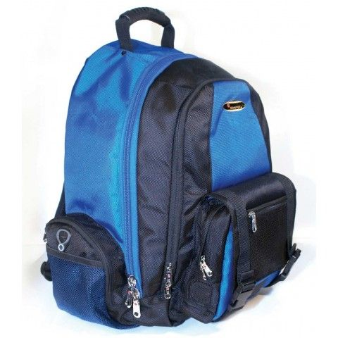 Isafe Colleigate Laptop Backpack Blue