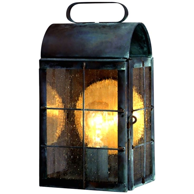 24 best wall sconce copper lanterns and outdoor wall for Early american outdoor lighting