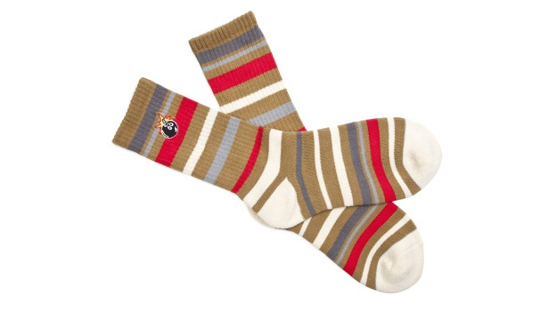 The Hundreds - Fakey Socks - Available in black and khaki: Fakey Socks