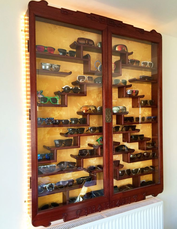 Superieur My Sunglasses Display   Old Chinese Medicine Cabinet Found In A Junk Shop