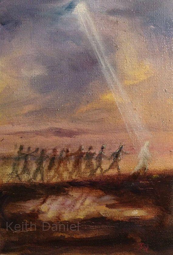 Fishers of men Original Keith Daniel oil by KeithDanielart on Etsy
