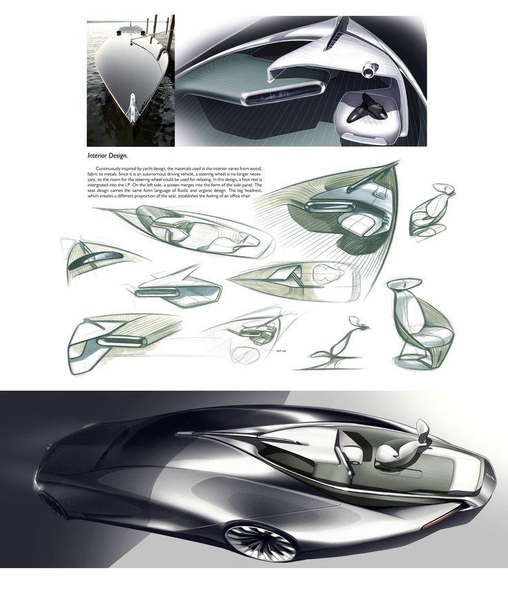 rolls royce vision autonomous luxury concept on behance car design exterior pinterest. Black Bedroom Furniture Sets. Home Design Ideas
