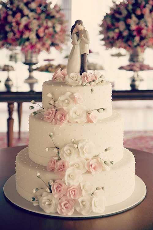 25 modelos de bolo de casamento simples e barato sugest es casamento pinterest bolos de. Black Bedroom Furniture Sets. Home Design Ideas