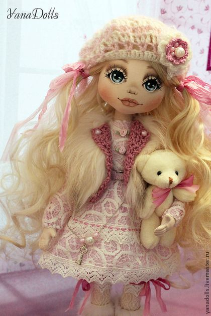 Влада - розовый,кукла,кукла ручной работы,кукла в подарок,кукла интерьерная