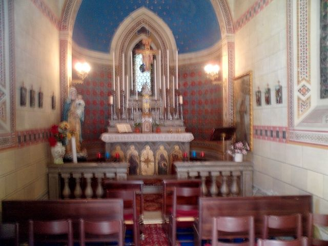 chi non vorrebbe avere una cappella privata dove celebrare il proprio matrimonio?
