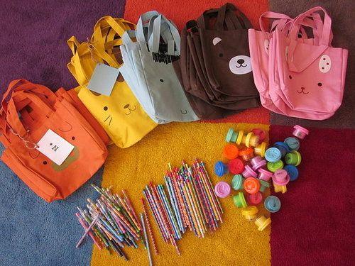Daiso Animal Tote Bags