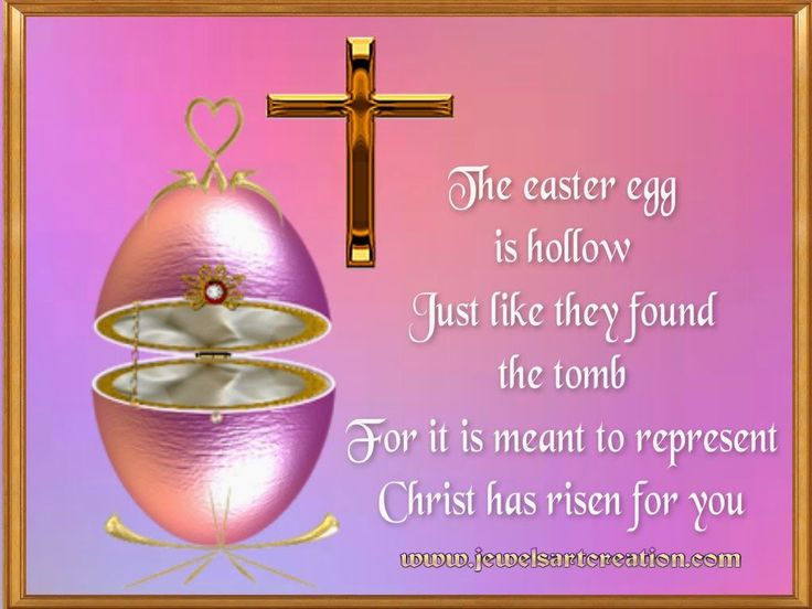 The Easter Egg Is Empty Like They Found The Tomb