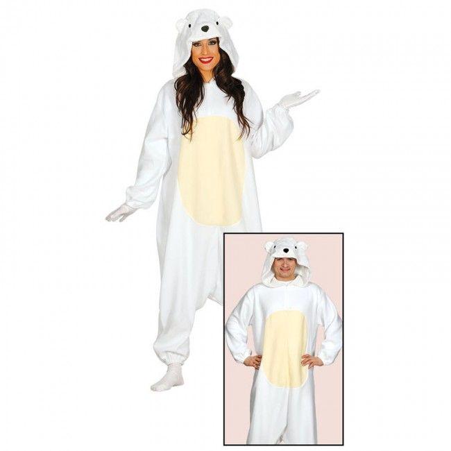 Disfraz de Oso Polar Kigurumi para hombre#disfraces #carnaval #novedades2017