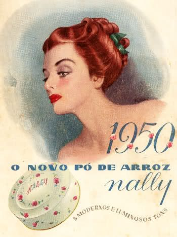 Pó de Arroz Nally, 1950, Portugal