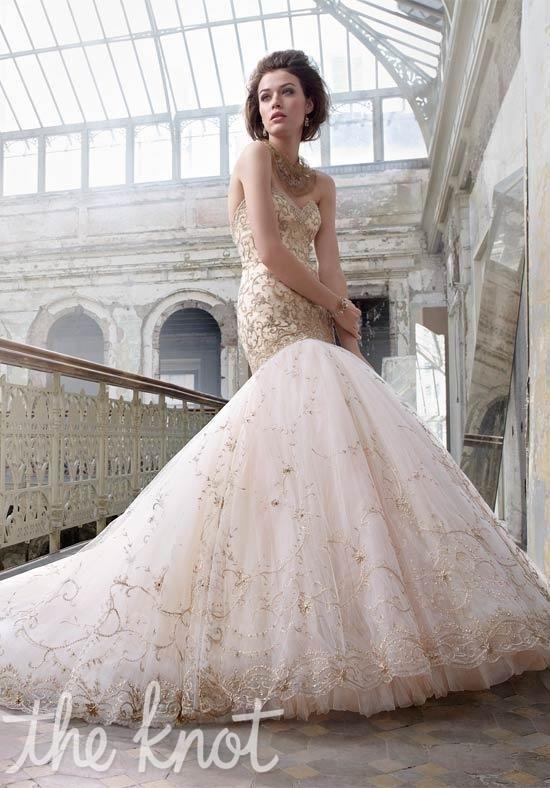 Lazaro 3217 Hochzeitskleid Foto   – Wedding Miracle