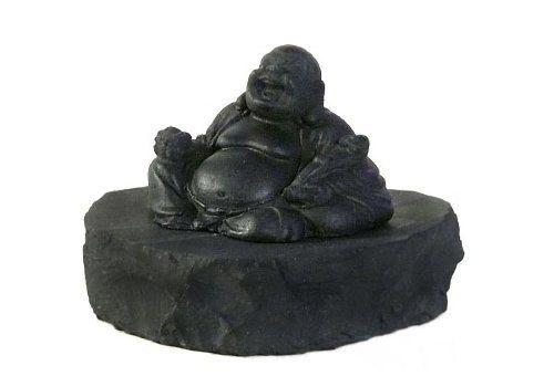 Statuette of Hotei by ShungiteofKarelia on Etsy