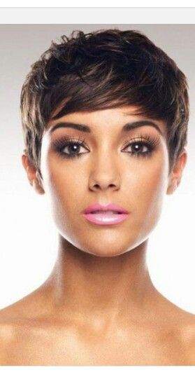 Pleasant 1000 Ideas About Brown Pixie Cut On Pinterest Pixie Cuts Hairstyles For Women Draintrainus