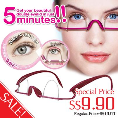 Hot Buy! Eyelid Trainer http://firstbeauty.com.sg/eyelid-trainer.html