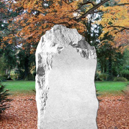 Stilvolles Marmor Grabmal »Savona« rustikal • Qualität & Service direkt vom Bildhauer • Jetzt Grabstein online kaufen bei ▷ Serafinum.de