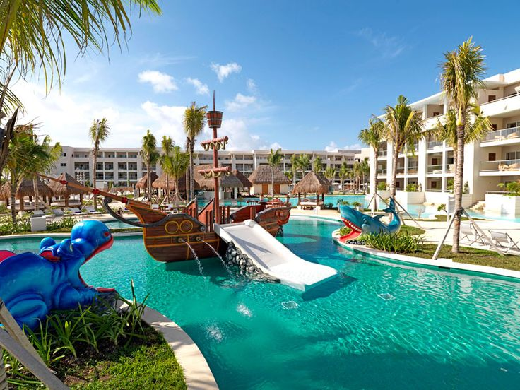 Paradisus playa del carmen la esmeralda kids pool playa for All inclusive winter vacations