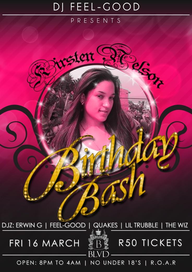 Kirsten Birthday Bash