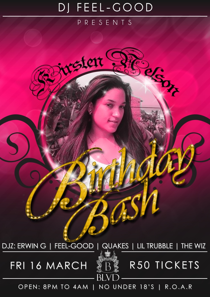Kirsten Birthday Bash
