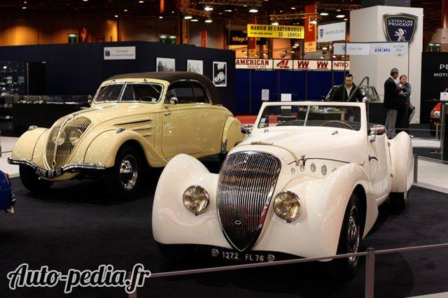 Stand Peugeot : 402 Darl-mat.  Source : http://www.auto-pedia.fr/constructeurs-retromobile/