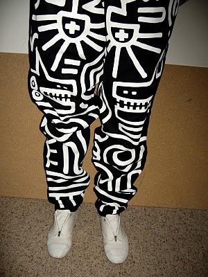 keith haring pants